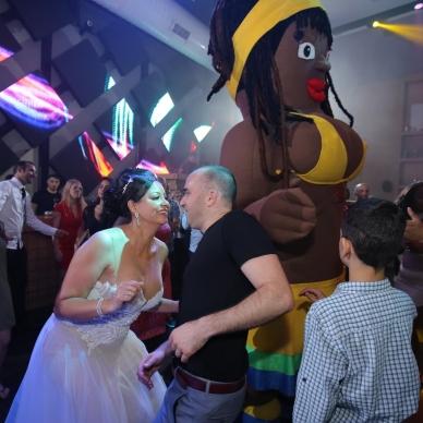 אירוע חתונה עם מורנגו