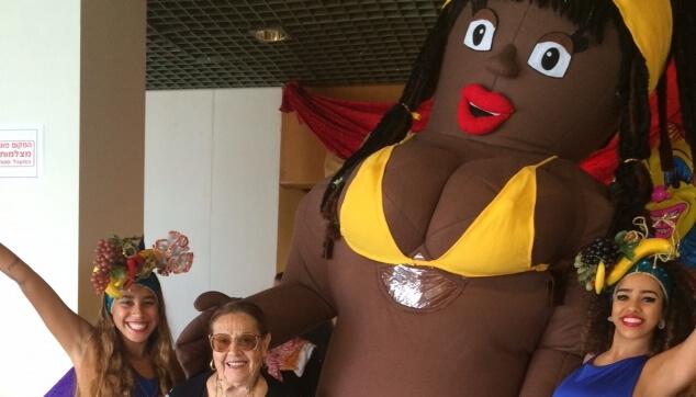 בובה מתנפחת ברזילאית
