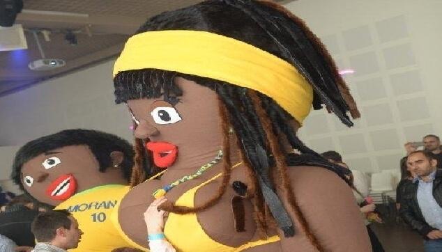 בובות מתנפחות ברזילאיות מורנגו