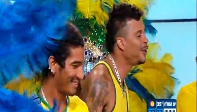הלהקה הברזילאית בערוץ 10