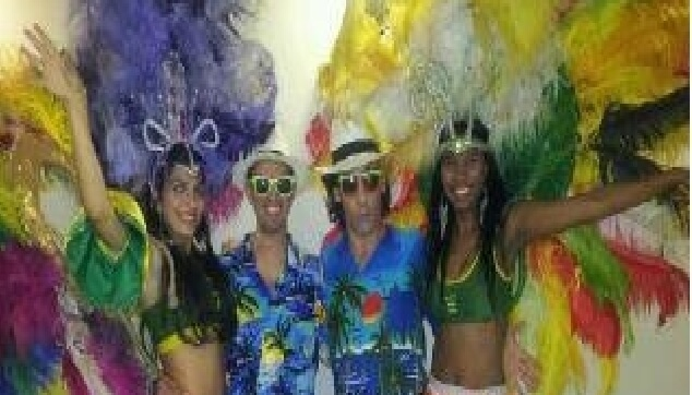 הרקדניות הברזילאיות עם אודי ואביעד