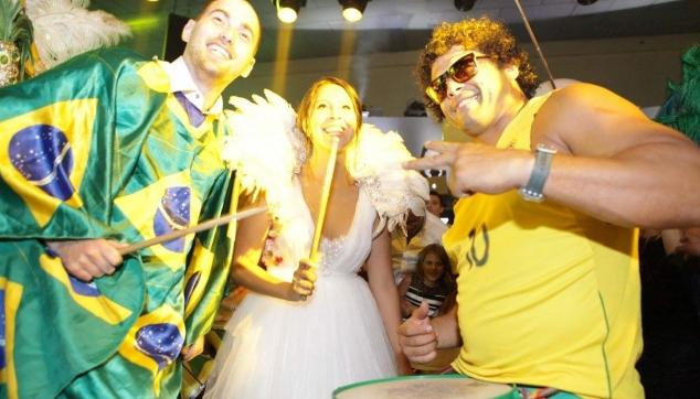 חתונה בקצב ברזיל