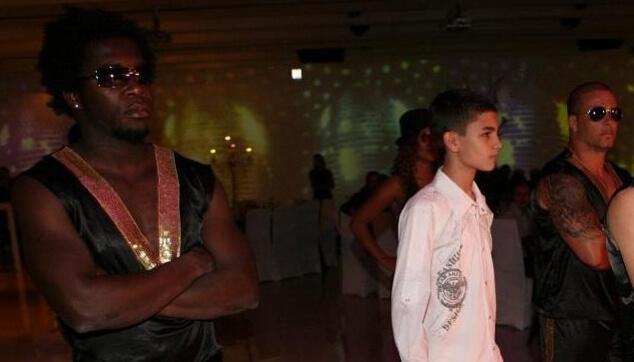 כניסת בר מצווה עם רקדנים ברזילאים