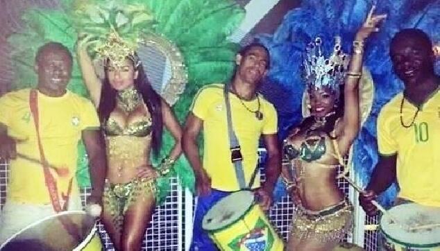 להקות ברזילאיות לחתונה