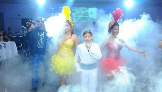 מופע לבת מצווה עם רקדניות ברזילאיות
