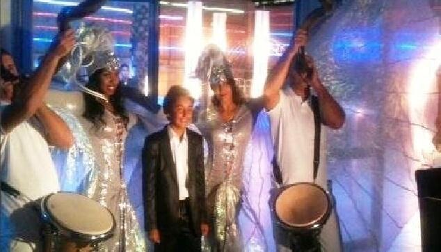 מופע רקדניות ברזילאיות לבר מצווה