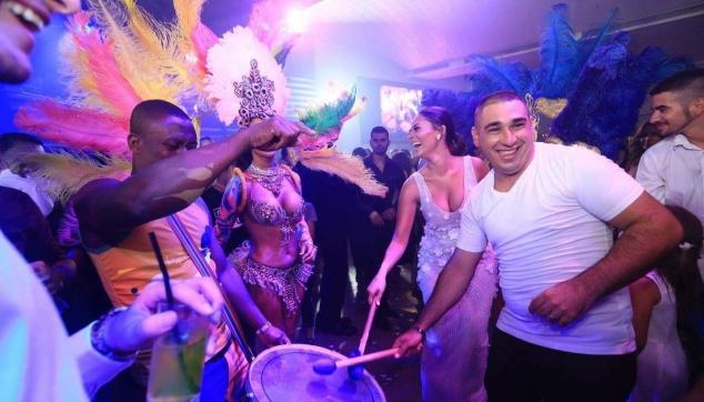 קרנבל ברזילאי בחתונה