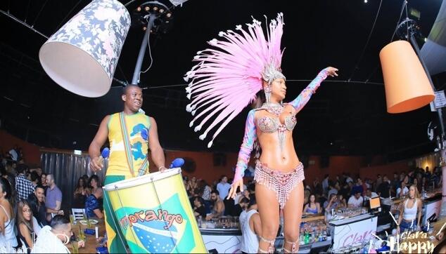 קרנבל ברזילאי במועדון הקלרה