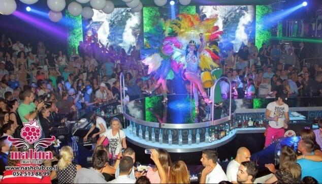 קרנבל ברזילאי במסיבה