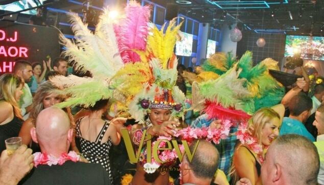 ריקודים עם הלהקה הברזילאית מורנגו