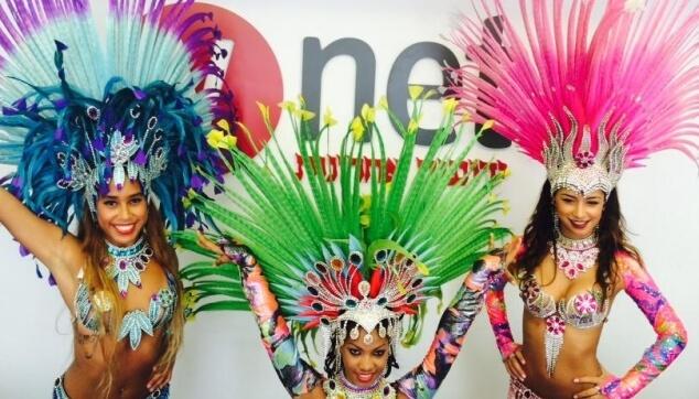רקדניות ברזילאיות בפרסומת YNET