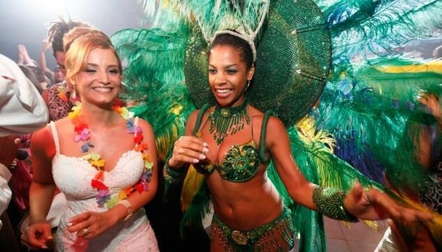 רקדניות ברזילאיות לחתונות
