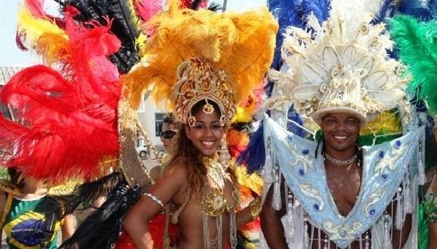רקדנים ברזיאלים בריו דה יזראל
