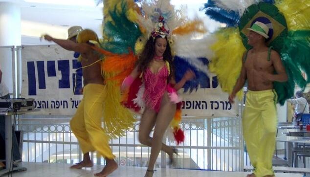רקדנים ברזילאים