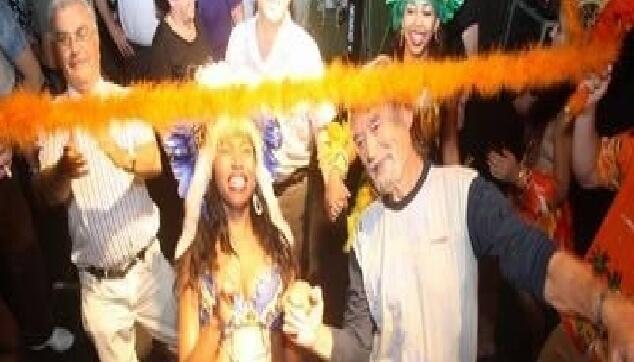 רקדנית ברזילאית לבת מצווה