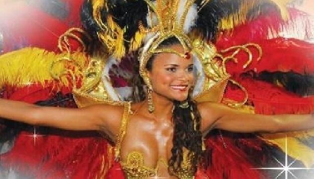 רקדנית ברזילאית מבית מורנגו