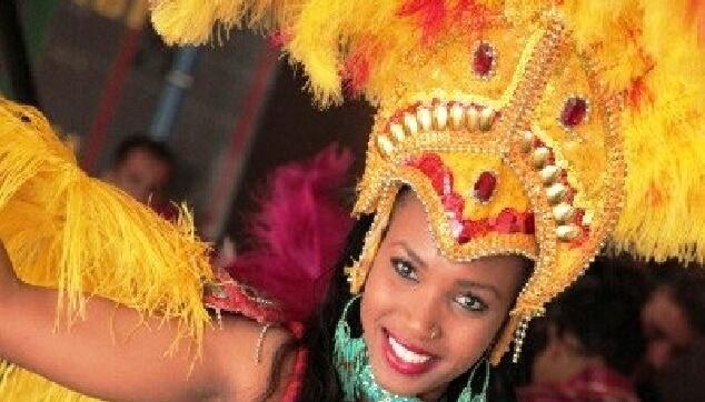 רקדנית ברזילאית