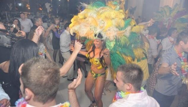 רקדנית מברזיל