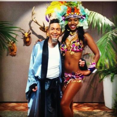 רקדנית מורנגו עם יובל סמו