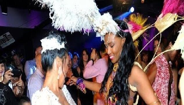 רקדניות ברזילאיות לחתונה
