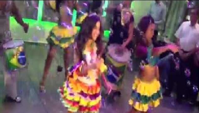 ריקוד ברזילאי לבת מצווה עם מורנגו
